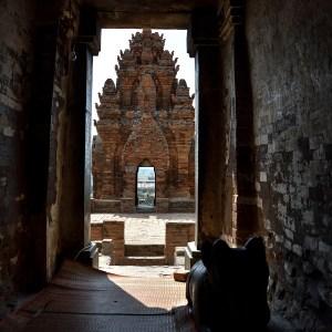 Inside the Po Klong Garai Cham Temple - Phan Rang, Ninh