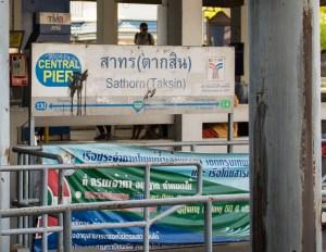 Central Pier - Sathorn (Taksin) Bangkok, Chao Phraya River
