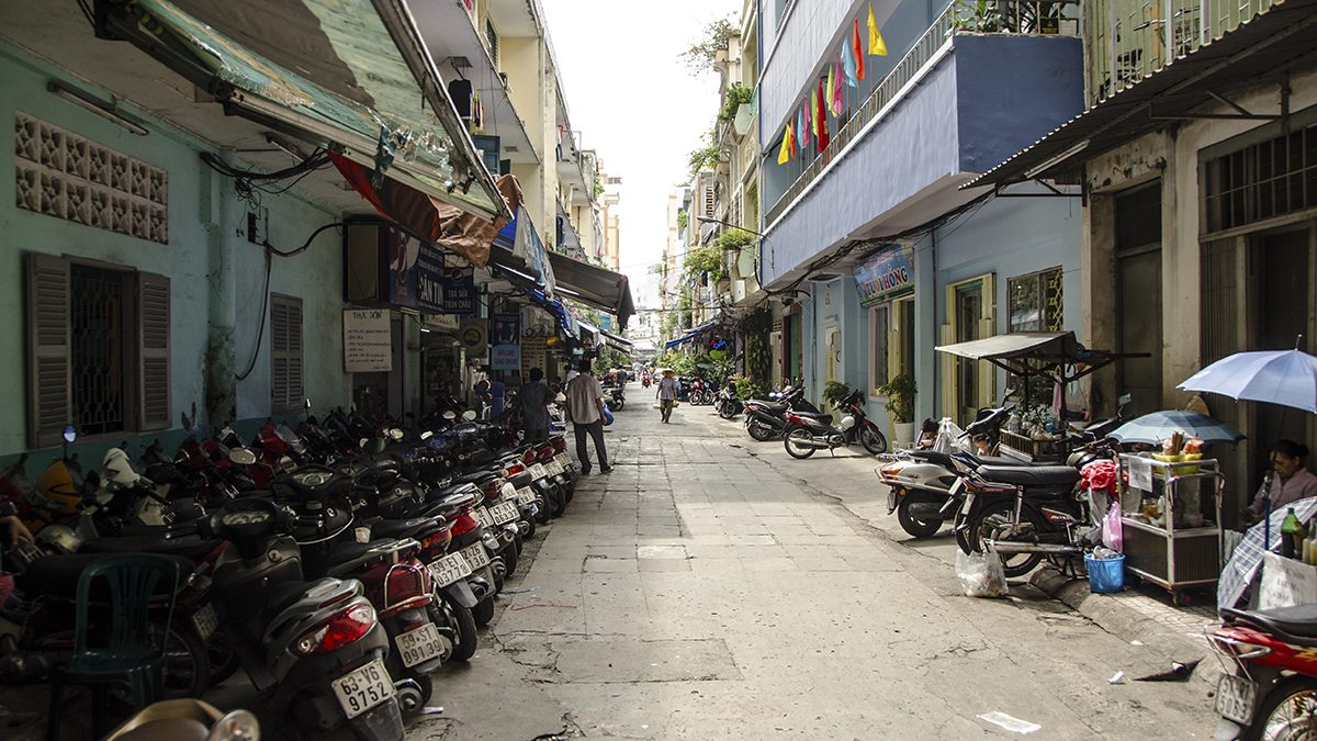You wont be staying here, in Saigon/HCMC if you don't have your Letter of Approval for your Vietnam visa!
