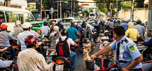 One could say there are a few motorbikes in Saigon/HCMC...