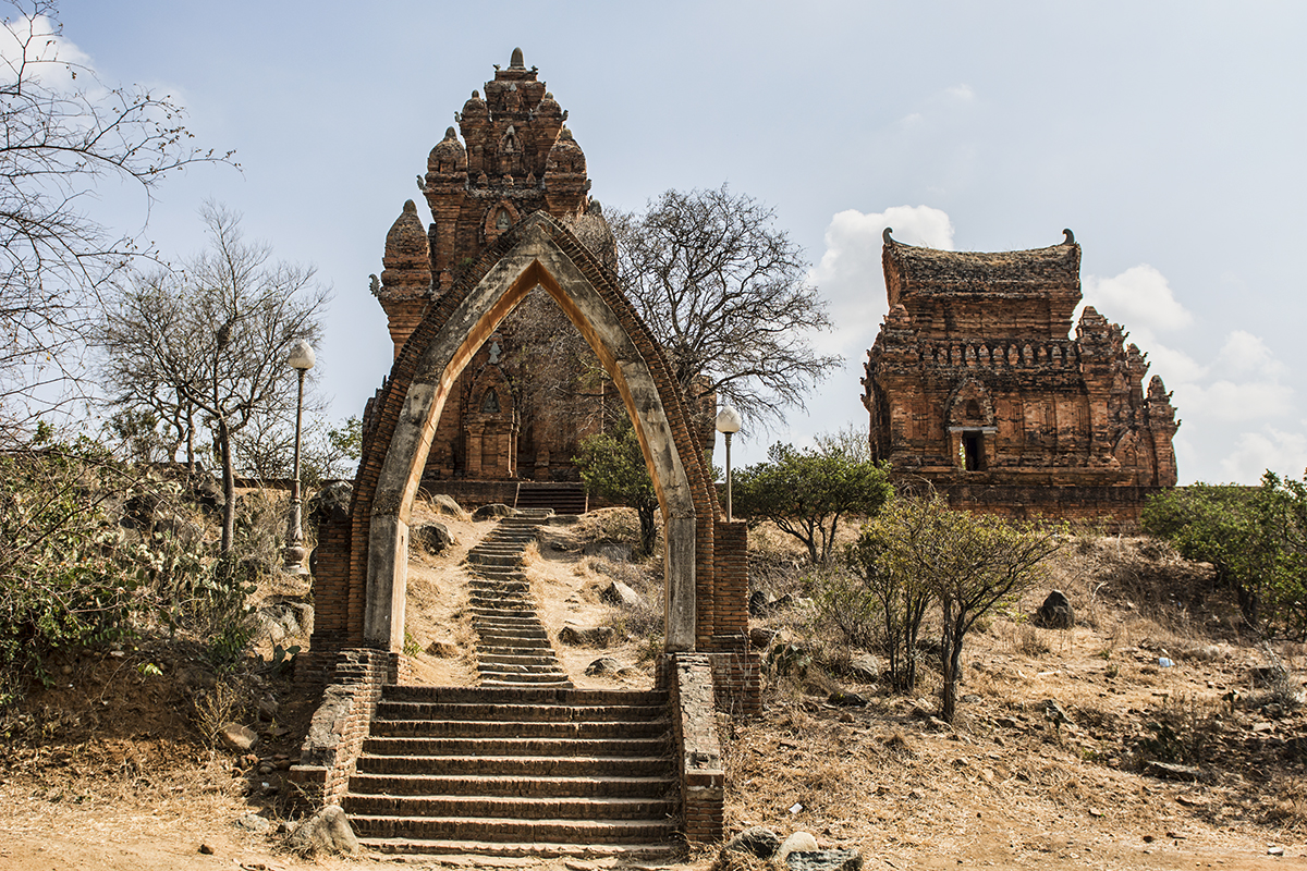 Po Klong Garai Temple near Phan Rang in the Ninh