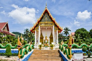 Wat Suwankiriket in the town of Karon.