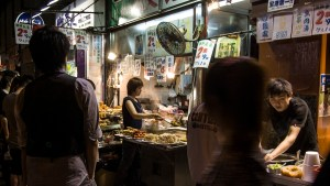 Hong Kong street food.