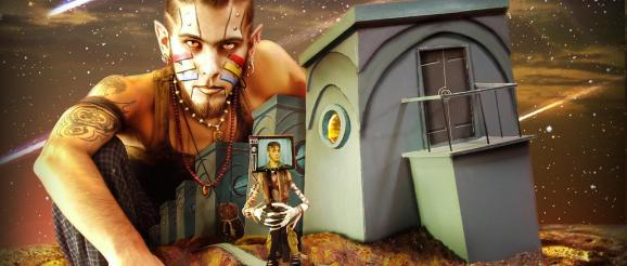TVHead and Jayel Draco on hanging out on the Mars Colony set