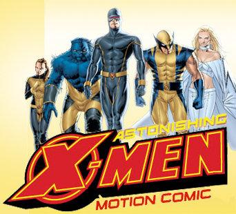 The Astonishing X-Men Motion Comic by Marvel Comics