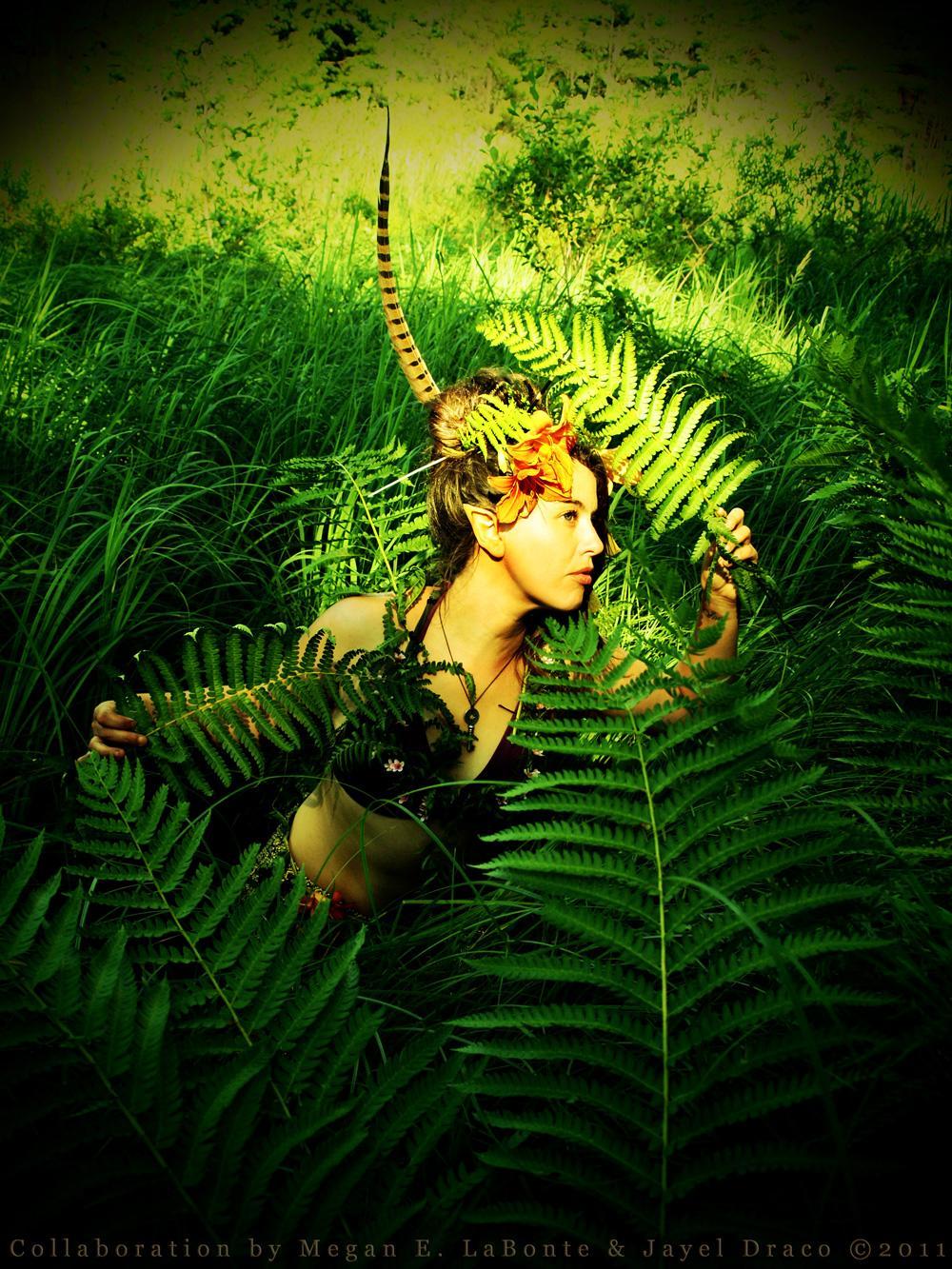 Fern Princess - Costume, Photography, and Photomanipulation by Jayel Draco