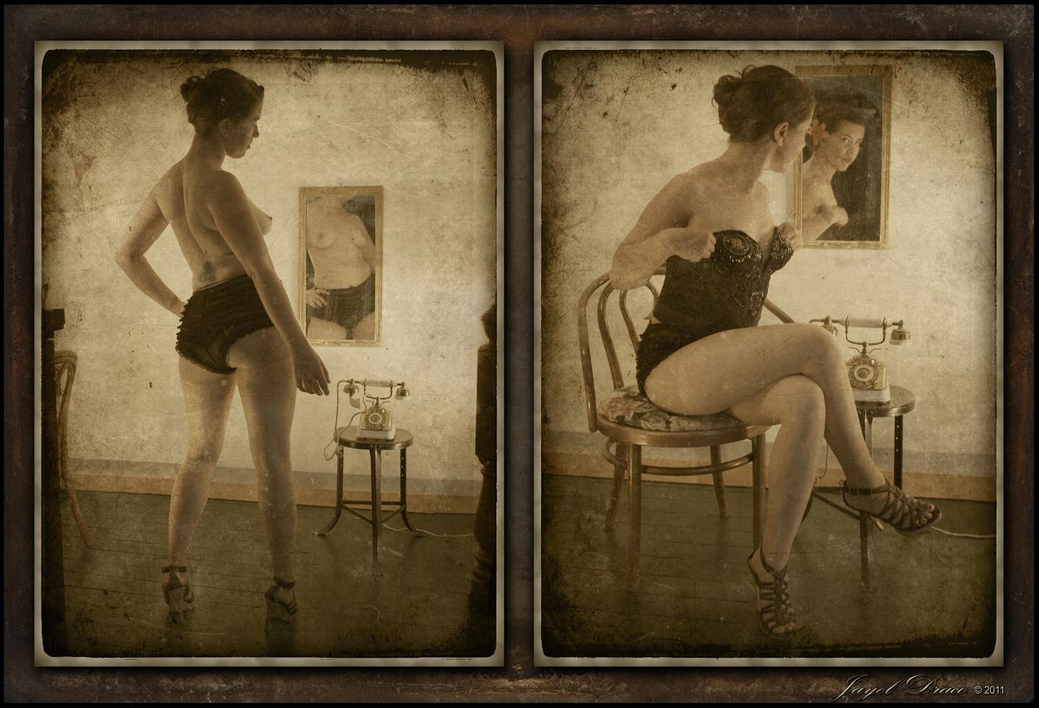 VINTAGE SASS - Photography and Photomanipulation by Jayel Draco