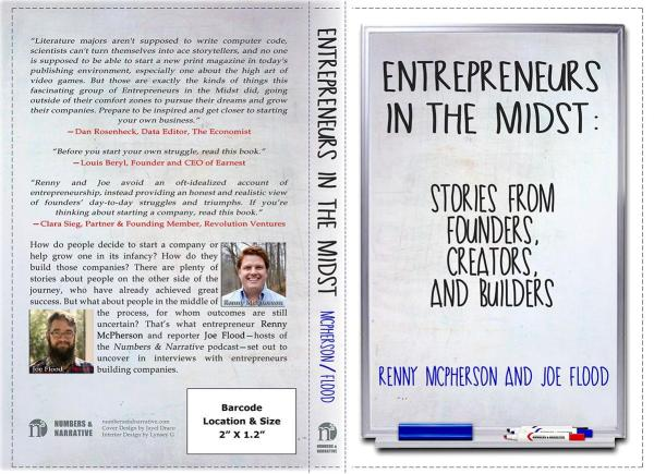 N2 - Entrepreneurs in the Midst - Book Cover by Jayel Draco