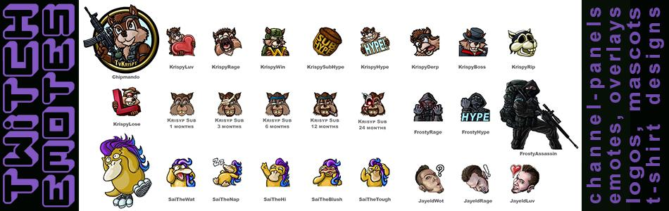twitch-emotes-channel-panels-logos-icons-overlays-mascots-banner-by-Jayel-Draco