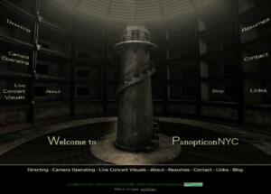 Panopticon NYC: Splash Page