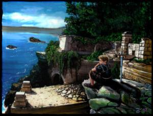 Jad at Nodas Ruins