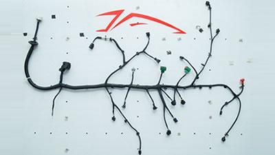 5 Wiring Harness 3d Model