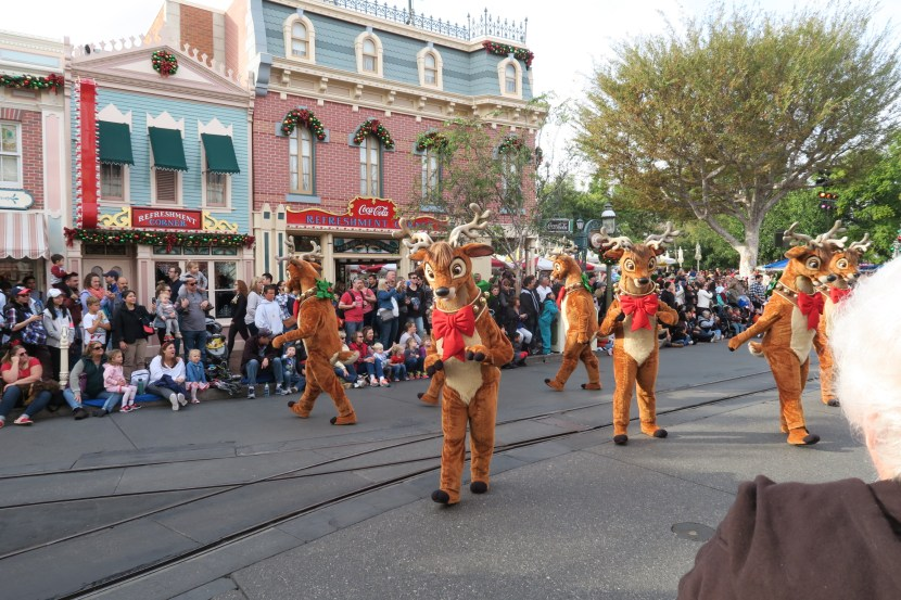 Christmas Disney Parade