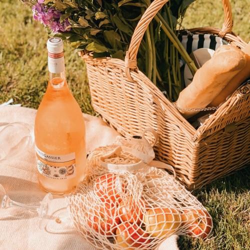 summer to do list jaye rockett picnic rose wine flowers garden fruit
