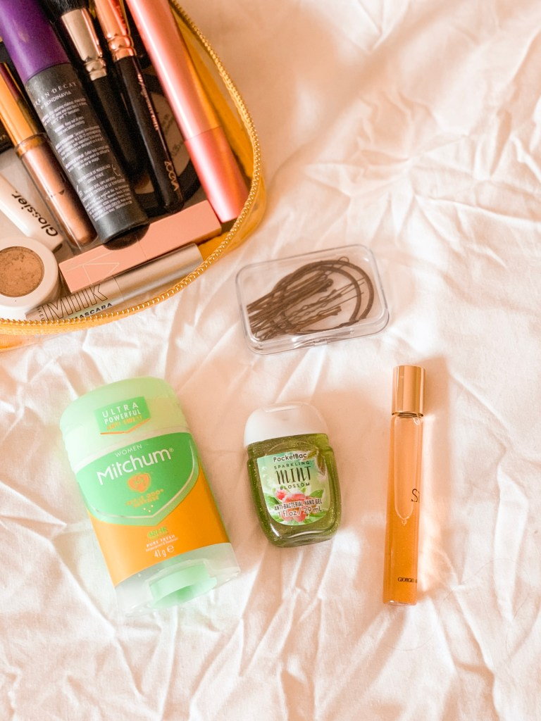 What I packed for ibiza jaye rockett beauty products