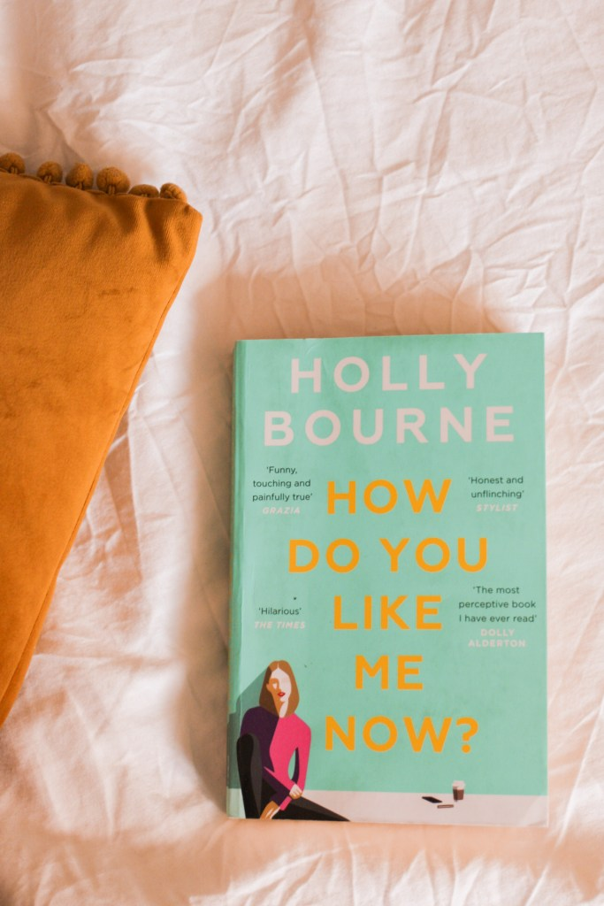 jaye rockett books read during lockdown book on bed how do you like me now holly bourne