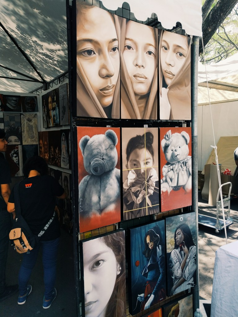 Somebody's muse. Art in the Park 2016