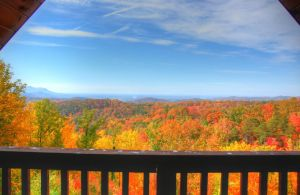 Bella Vista Lodge is a luxury four bedroom cabin in Gatlinburg on a private 7 acre tract. The lodge features a magnificent mountain view, theater room, arcade, luxury bathroom including copper bathtub & walk-in shower, and top of the line quality throughout the cabin