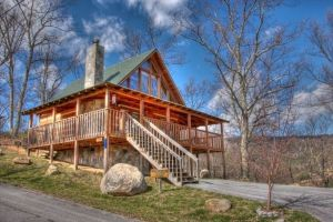 Cabin of Dreams is a two bedroom cabin in Pigeon Forge with a spectacular mountain view. It is conveniently located on Bluff Mountain just minutes to Pigeon Forge