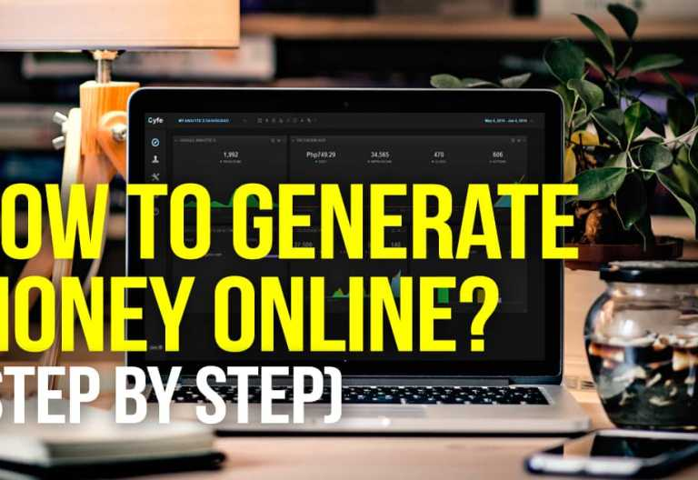 how-to-generate-money-online