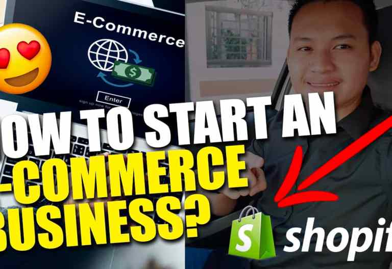 how to start ecom business