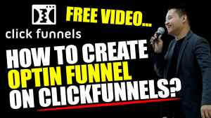 How To Create OPTIN funnel On ClickFunnels?