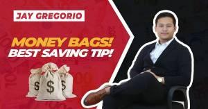 Money Bags! (Best saving tip!)