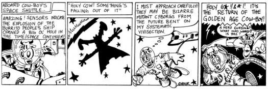 Cow-Boy | Drawing Flies