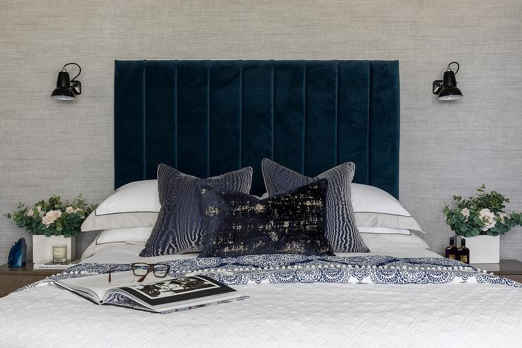 Interior Trend: Colourful headboard