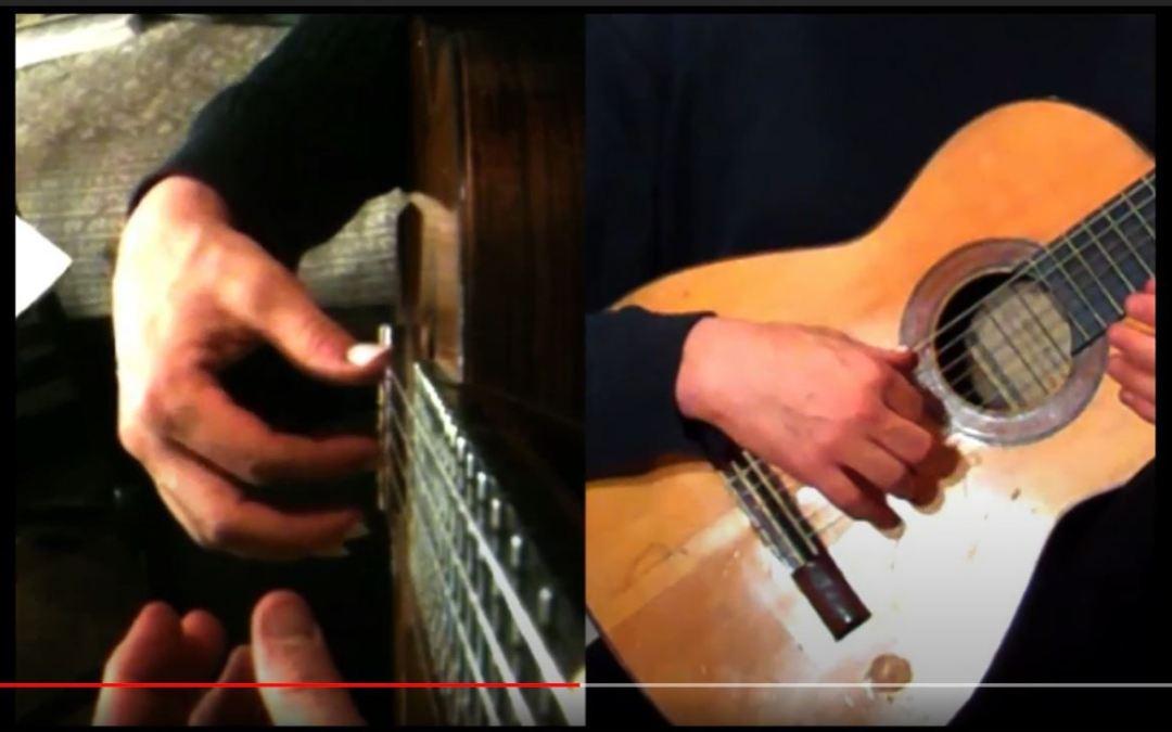 Classical Guitar Tips Video 1: Battle of Free Vs. Rest Stroke