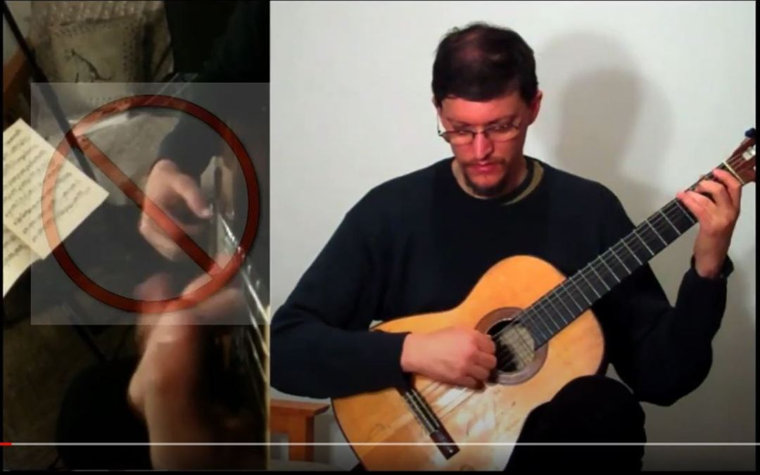 Classical Guitar Tips Video 8: Bouncing Hand Syndrome