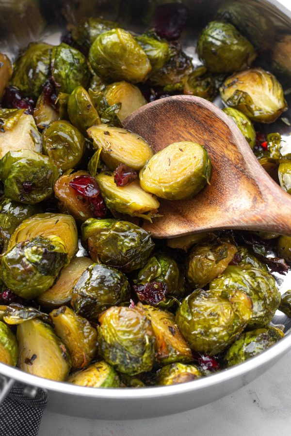 Honey Roasted Brussels Sprouts