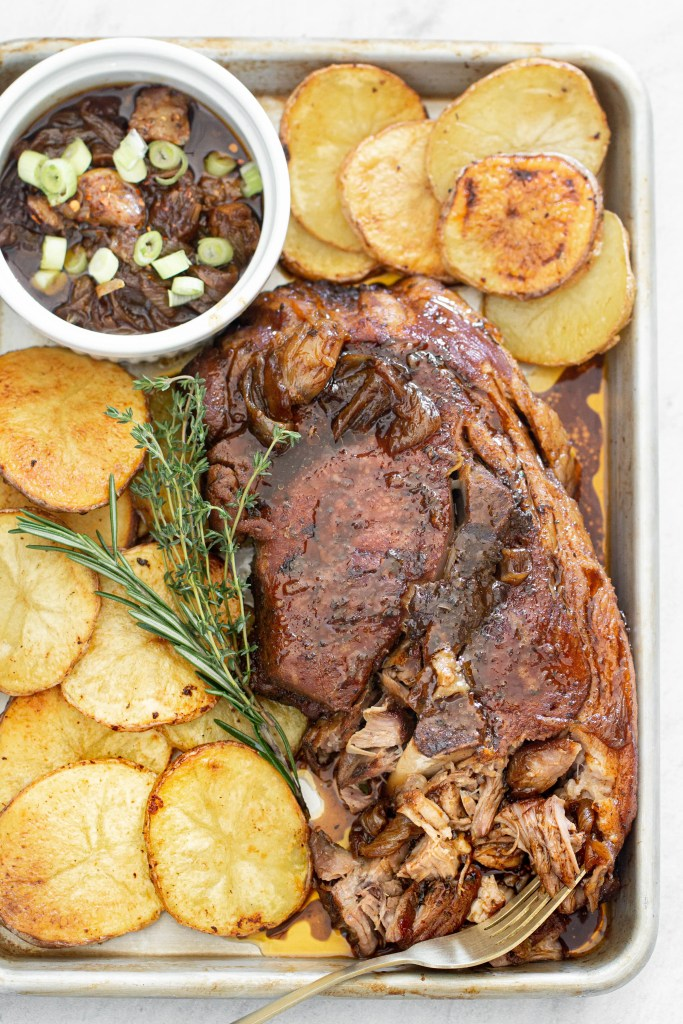 Sweet and Spicy Pork Roast