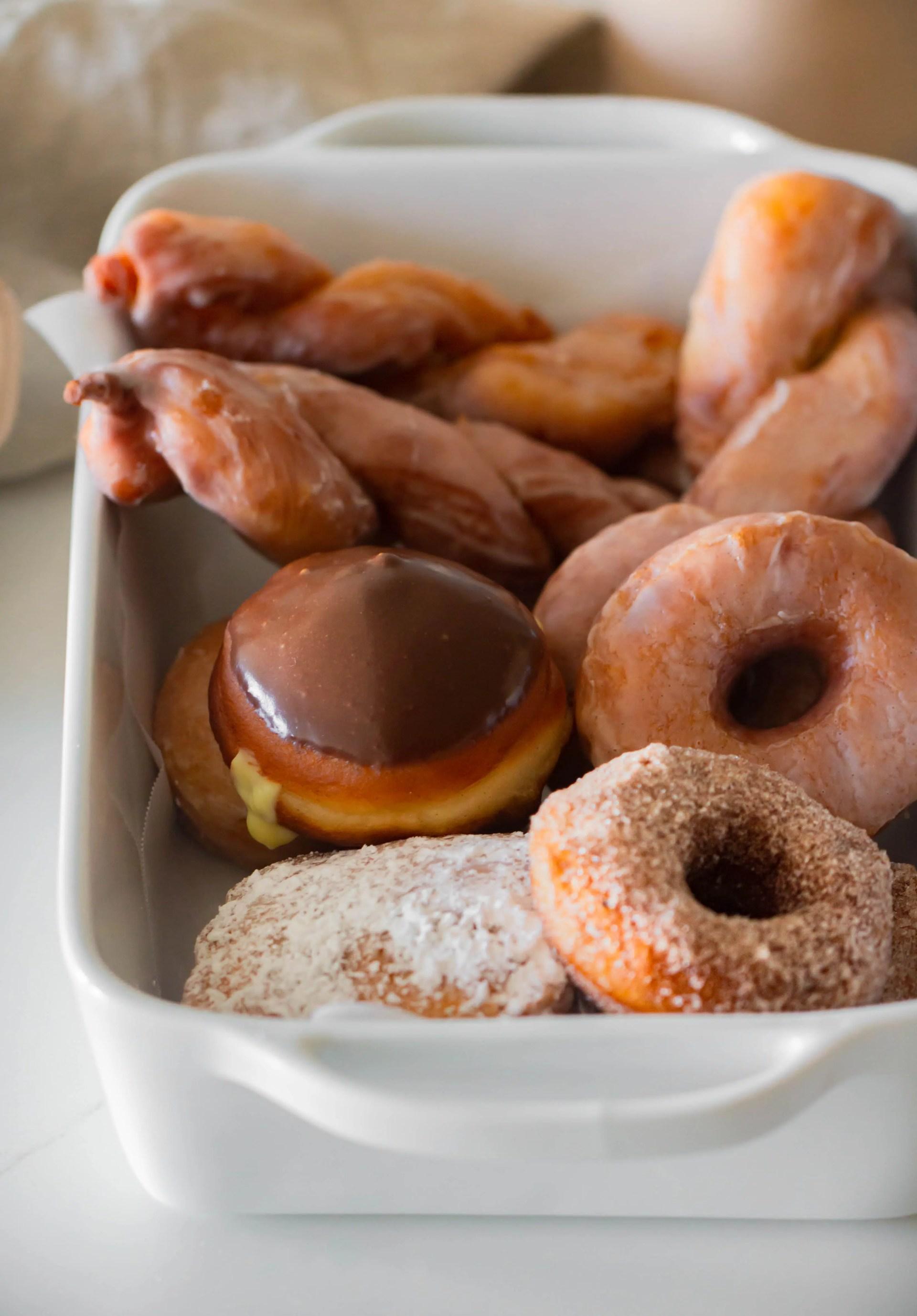 How to make homemade glazed donuts