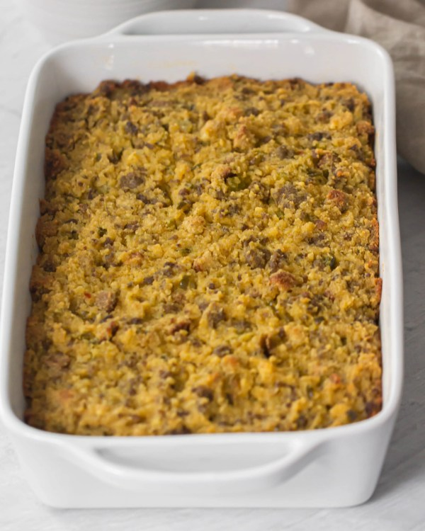 How to make cornbread dressing (stuffing)