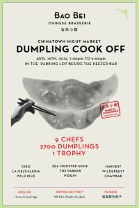 Dumpling Cook Off