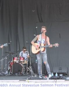 Andrew Allen at Steveston Salmon Festival