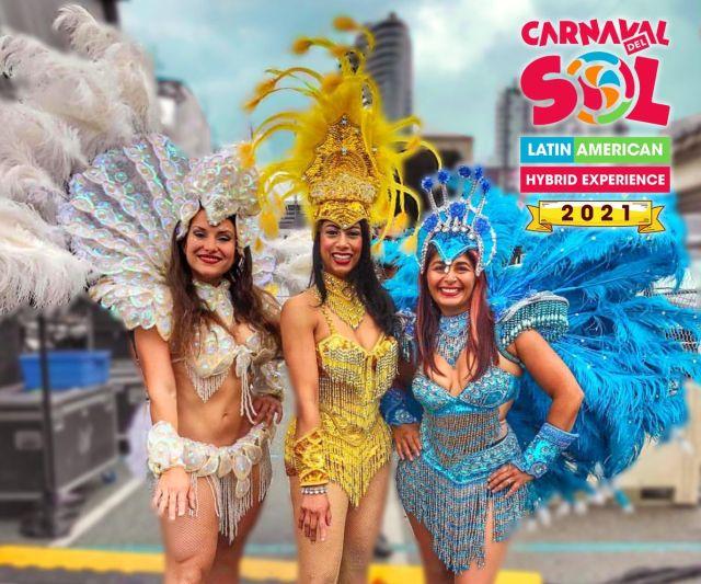 Carnaval Del Sol Hybrid - dancers
