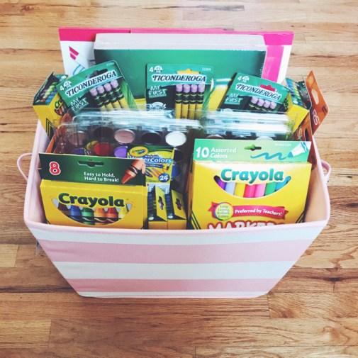 Teacher appreciation week school supplies