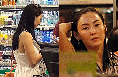 "Cecilia Cheung Shocks with ""Pregnant Look"""