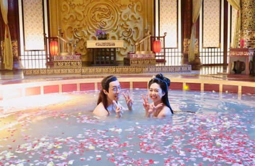 """Steven Ma Gets His Spa Treatment While Filming """"Deep in the Realm of Conscience"""""""