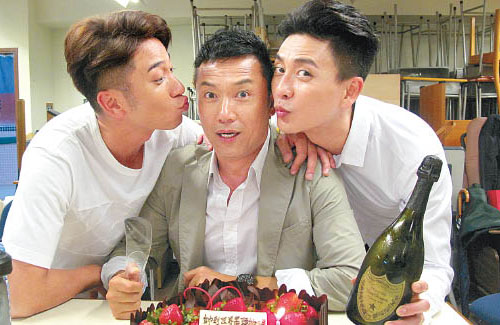 Michael Miu Celebrates 59th Birthday with Bosco Wong and Ron Ng