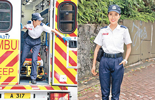Natalie Tong Returns to Work After Collapse