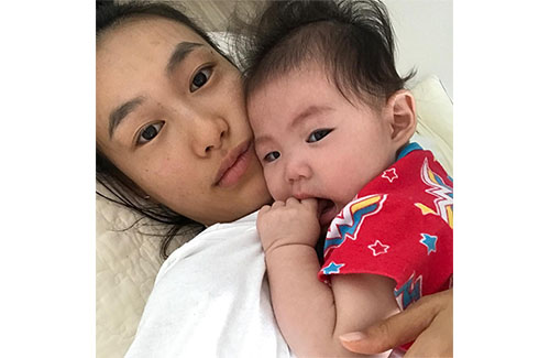 Shupei Qin Shares Picture of Daughter Alaia