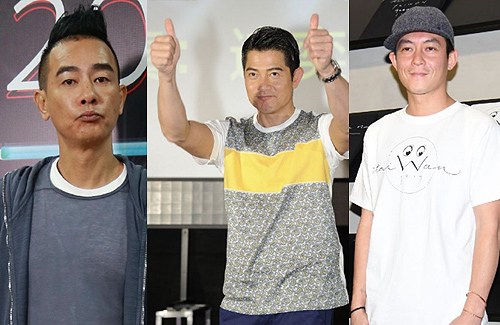 """Bad Boys"" Jordan Chan, Aaron Kwok, and Edison Chen Tamed by Fatherhood"