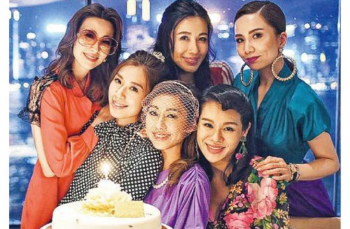 Nancy Wu Holds a Retro-Themed Birthday Party