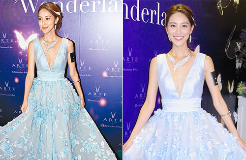 Kevin Cheng Approved Grace Chan's Dress