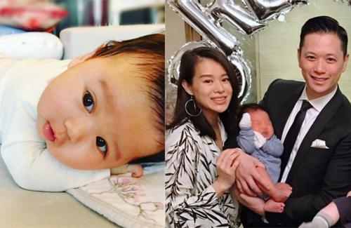 Myolie Wu's Son's Face Revealed; Brendan is a Cutie!