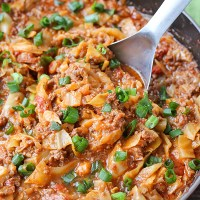 Paleo Whole30 Cabbage Roll in a Bowl