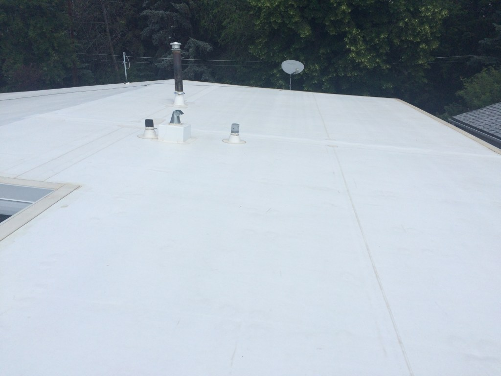 single ply roofing systems in Edmonton
